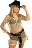 Cowgirl 'sexy' Fotografia de Stock Royalty Free