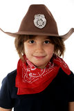 Cowgirl Sheriff stock image