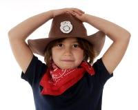 Cowgirl Sheriff Stock Image