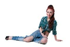 Cowgirl styl Zdjęcia Stock