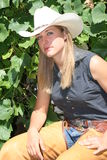 cowgirl target1173_0_ Obrazy Stock