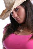 cowgirl två Arkivfoto