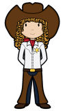 CowGirl - vector Stock Photography