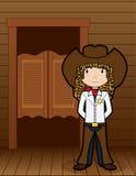 Cowgirl - Vektor Lizenzfreie Stockfotografie