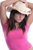 Cowgirl vier Stockfotografie