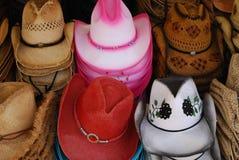 cowgirlhattar Royaltyfri Foto