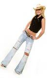 Cowgirlkleidung Lizenzfreies Stockfoto