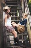 cowgirls Fotografering för Bildbyråer