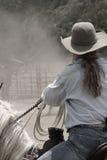 cowgirlteri Arkivbild