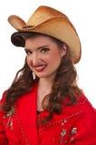 cowgirlutvikningsbrud Royaltyfri Foto