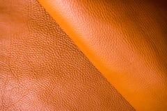 Cowhide χειροτεχνία υποβάθρου δέρματος για τη χειροποίητη εργασία στοκ φωτογραφίες