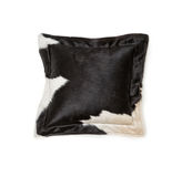Cowhide pillow Stock Photo