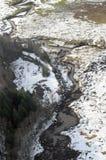 Cowlitz河洪水,华盛顿州 免版税库存图片