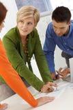 Coworkers brainstorming Royalty Free Stock Photo