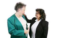 Coworkers Sharing a Laugh Stock Images