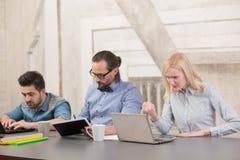Coworking businessteam Стоковые Фотографии RF