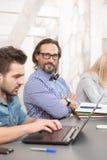 Coworking businessteam Стоковое Изображение RF