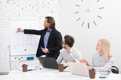 Coworking of businessteam Royalty Free Stock Image