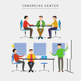Coworking center Stock Images