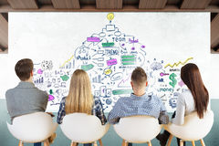 Coworking concept Stock Photography