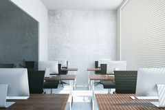 Coworking office interior Stock Photos