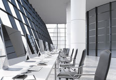 Coworking office interior Stock Images
