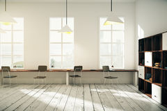 Coworking office interior design Royalty Free Stock Image