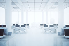 Coworking office interior Royalty Free Stock Photos