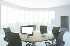 Coworking office interior Stock Image