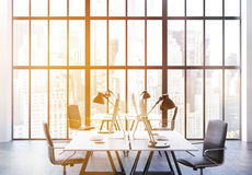 Coworking office toning Royalty Free Stock Photography