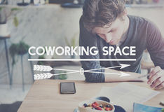 Coworking Space Place of Work Office Concept Stock Images