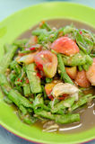 Cowpea salad , very spicy Stock Images