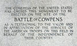 Cowpens National Battlefield Park Stock Photography