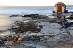 Cowrie dziura - Newcastle Australia zdjęcia stock