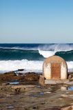 Cowrie Hole - Newcastle Australia stock photography