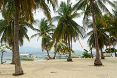 Cowrie Island in Honda Bay, Palawan (Philippines) Royalty Free Stock Photography
