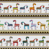 Cows pattern Royalty Free Stock Photos