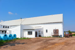 Cowshed building Stock Photography