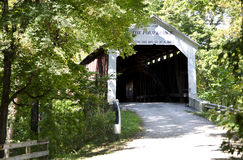 cox ford Covered bridge Royalty Free Stock Photos