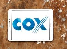 Cox komunikacj logo Obrazy Stock