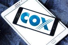 Cox komunikacj logo Fotografia Stock