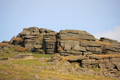 Cox Tor, Dartmoor royaltyfri bild