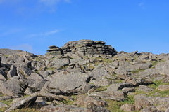 Cox Tor, Dartmoor Royalty Free Stock Images