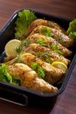 Coxas da galinha Fotografia de Stock