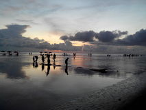 CoxBazaar Ocean C Beach Bangladesh Stock Photography