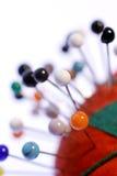 Coxim do Pin Imagem de Stock