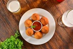 Coxinha - βραζιλιάνο πρόχειρο φαγητό Στοκ φωτογραφία με δικαίωμα ελεύθερης χρήσης