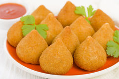 Coxinha de Galinha Royalty Free Stock Photo