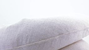 Coxins da tela do cânhamo video estoque