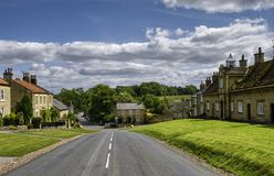 Coxwold village Royalty Free Stock Photos